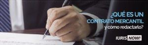 El contrato mercantil