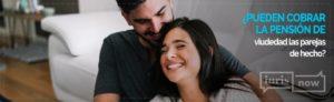 La pensión de viudedad para las parejas de hecho.