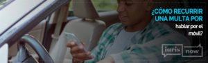 Recurso multa por hablar por el móvil conduciendo