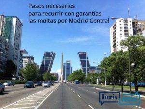 Multas por Madrid Central